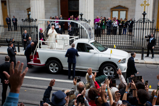 Pope Francis Dublin