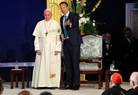 Pope Francis Leo Varadkar